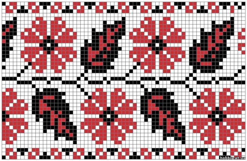 Орнамент украинской вышивки 52