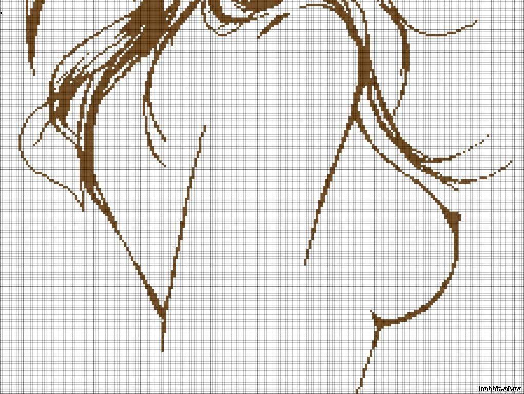 Схемы вышивок девушка голая счево