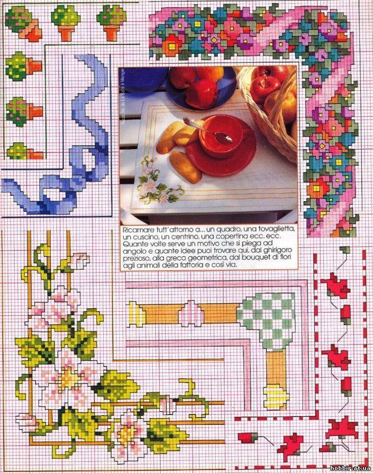 Схема вышивки знаки зодиака рыбы фото 298