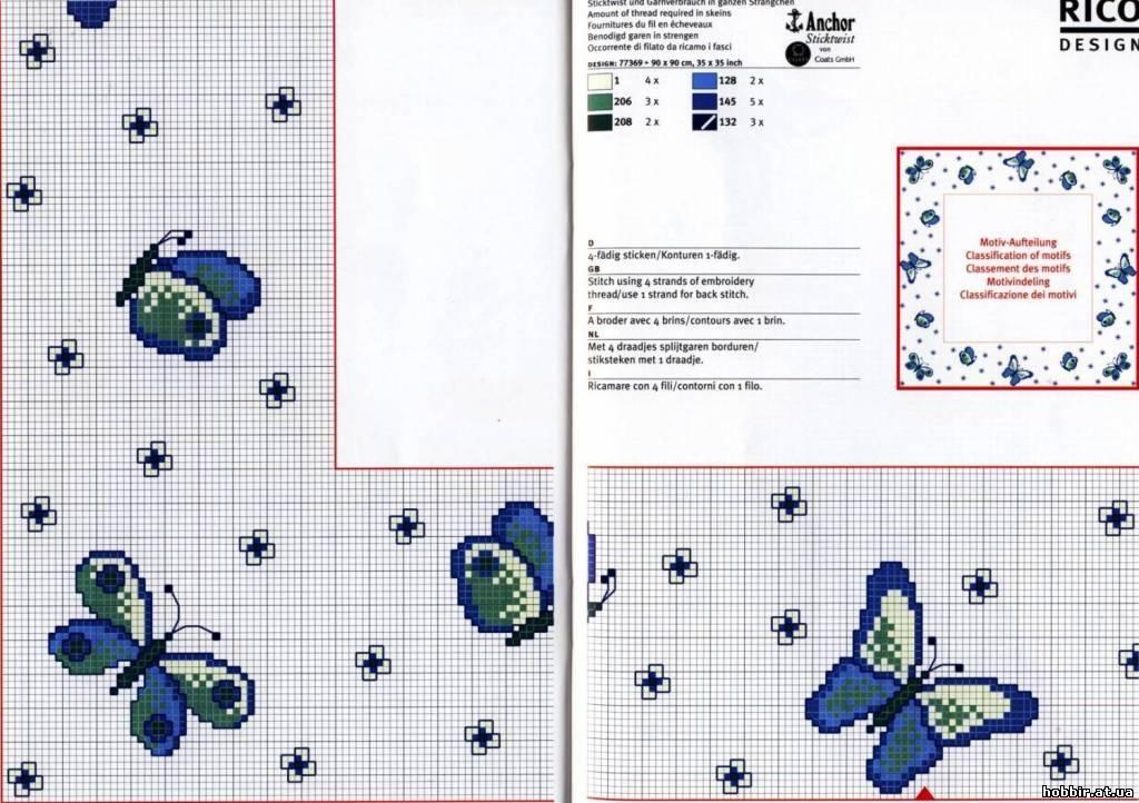 Схема вышивки крестом ростомер фото 447