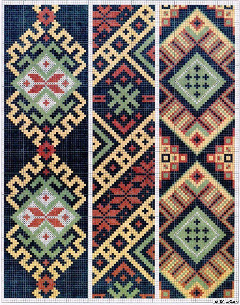 Этнический узор для вышивки 625