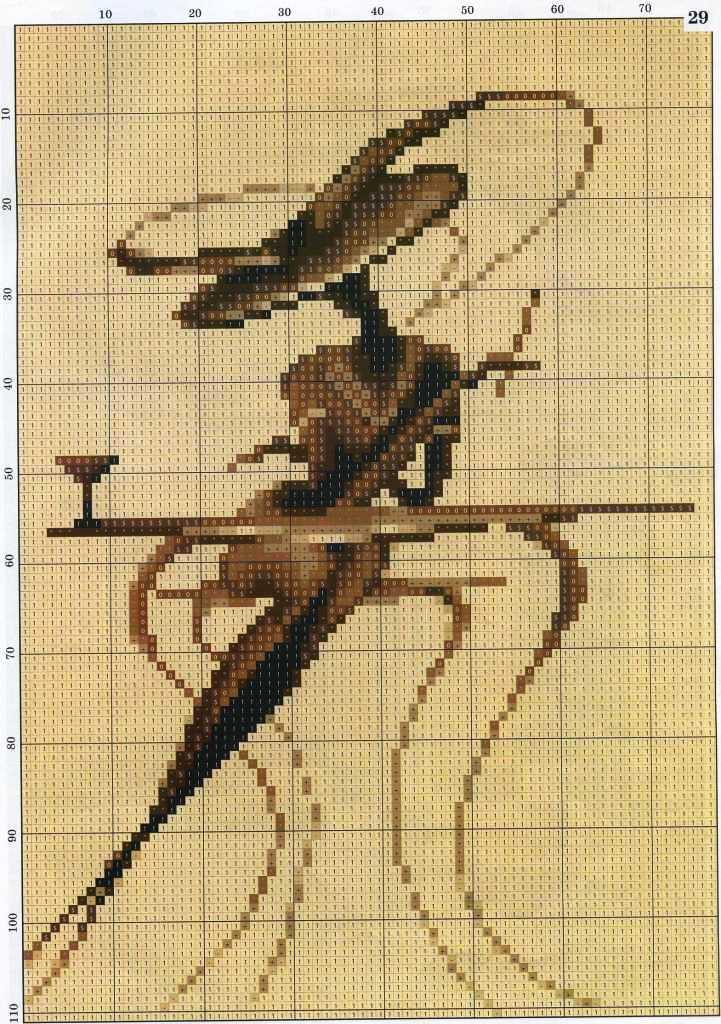 Вышивки крестом женский портрет